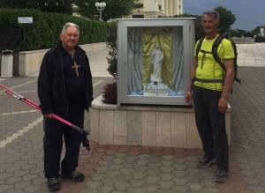 Річард Марковіч і Карл Ліб прийшли пішки в  Меджуґор'є