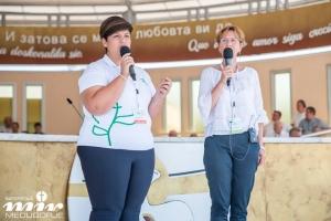 Свідчення Летіції Ченторбі з Італії на молодіжному Фестивалі